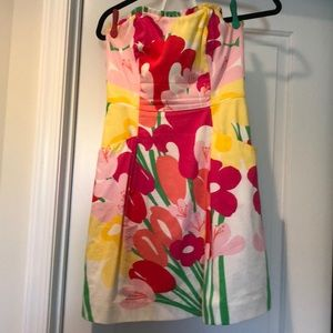 Strapless Lilly dress with pockets